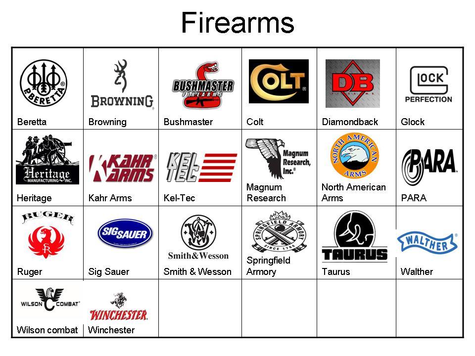 gun manufacturer logos bing images