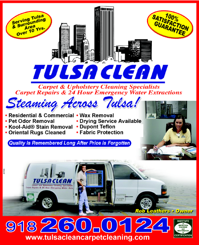 Interior Car Cleaning Okc: Tulsa Clean-Carpet & Upholstery Cleaning - Tulsa, OK