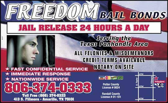 Freedom Bail Bonds - amarillo247.com