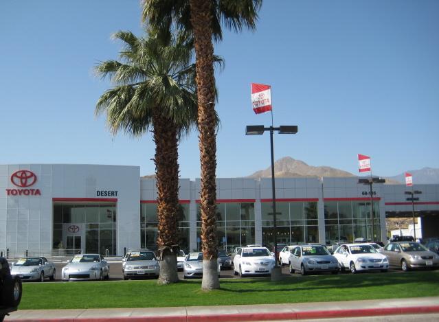 Palm Springs Desert Toyota Gl