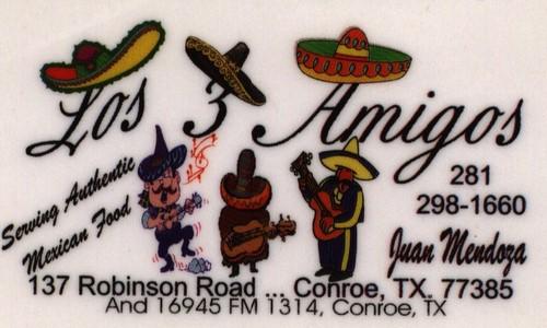 Los 3 Amigos Restaurant - Conroe, TX